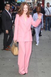 Julianne Moore - Outside Good Morning America in NYC 08/01/2019