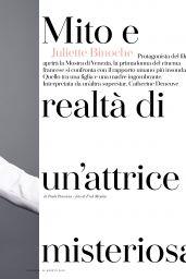 Juliette Binoche - Io Donna del Corriere Della Sera 08/24/2019