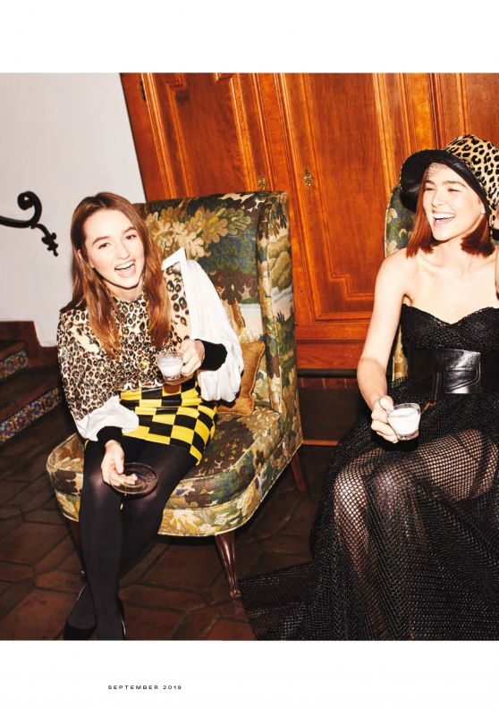 Kaitlyn Dever and Zoey Deutch - Vanity Fair September 2019 Issue