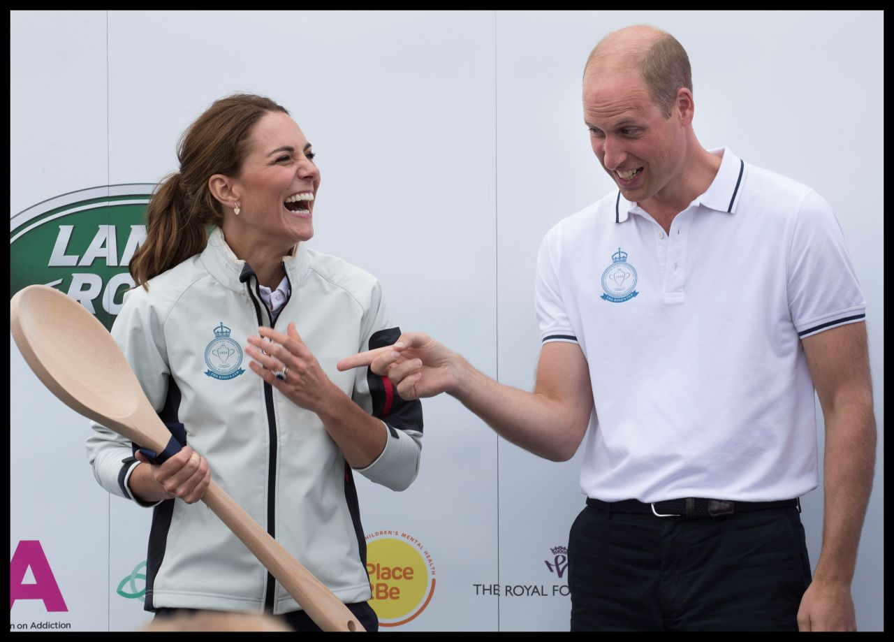 Kate Middleton And Prince William King S Cup Regatta On