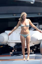 Kate Moss in a Bikini - Saint-Tropez 08/06/2019