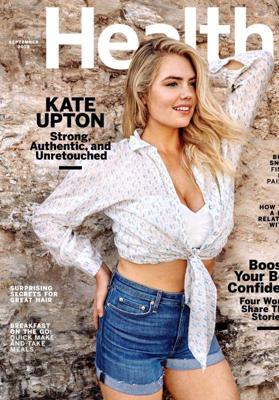 Kate Upton - Health Magazine September 2019