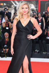 "Kate Upton on Red Carpet – ""Marriage Story"" Screening at the 76th Venice Film Festival"