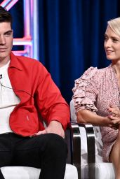 "Katherine LaNasa - ""Katy Keene"" TV Show Panel at TCA Summer Press Tour in LA"