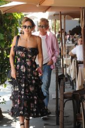Katherine McPhee - Leaving Il Pastaio in Beverly Hills 08/06/2019