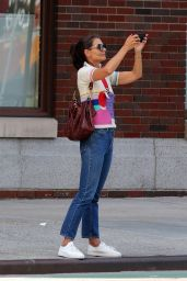Katie Holmes - Out in NYC 08/05/2019