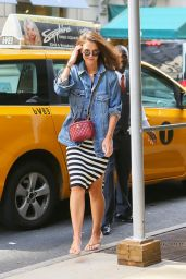 Katie Holmes - Out in NYC 08/18/2019