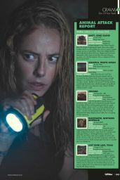 Kaya Scodelario - SciFiNow Magazine September 2019 Issue