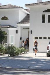 Khloe Kardashian - House Hunting in Woodland Hills 08/01/2019