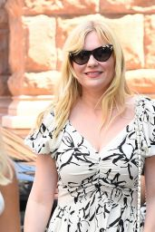 Kirsten Dunst - Outside BUILD Studios in NYC 08/15/2019