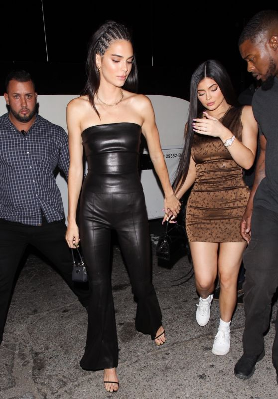 Kylie Jenner and Kendall Jenner at The Nice Guy in West Hollywood 08/23/2019