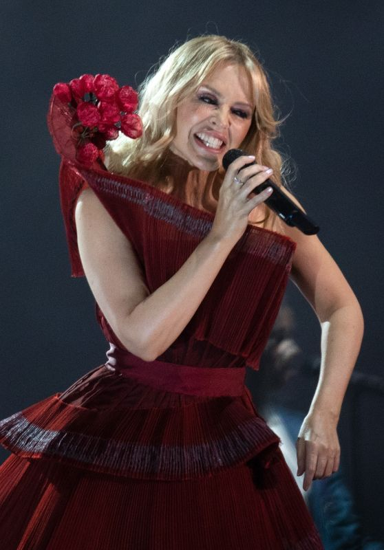 Kylie Minogue - Performing in Brighton 08/03/2019