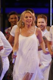 Kylie Minogue - Strictly Come Dancing Launch in London 08/26/2019
