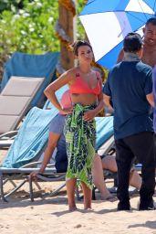 Lea Michele in a Bikini - Hawaii 08/16/2019