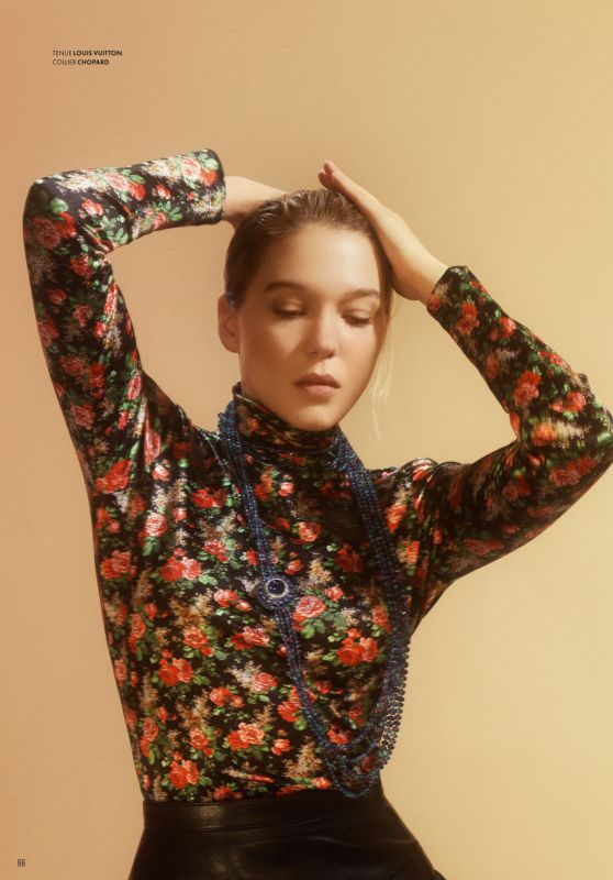 Léa Seydoux - Vanity Fair France September 2019 Issue