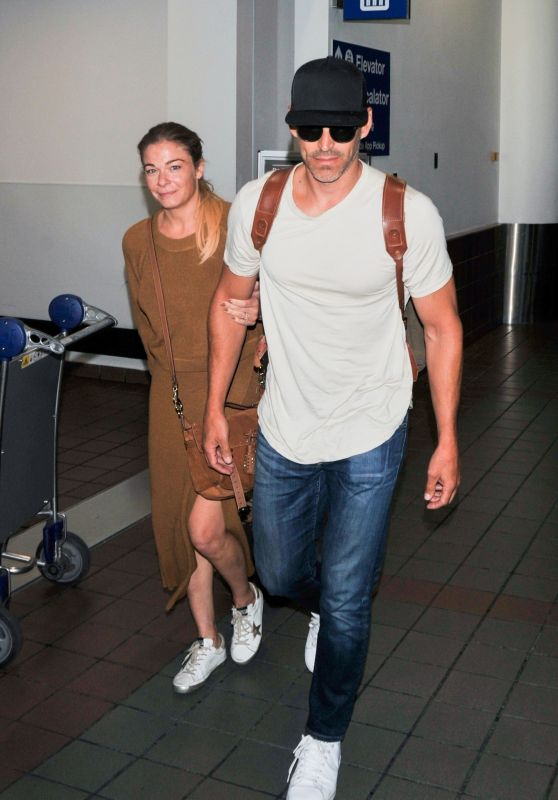 LeAnn Rimes at LAX Airport in LA 08/18/2019