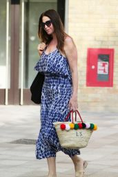 Lisa Snowdon - Outside the ITV Studios in London 08/27/2019