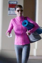 Lori Loughlin - Heading to a Yoga Class in LA 08/16/2019