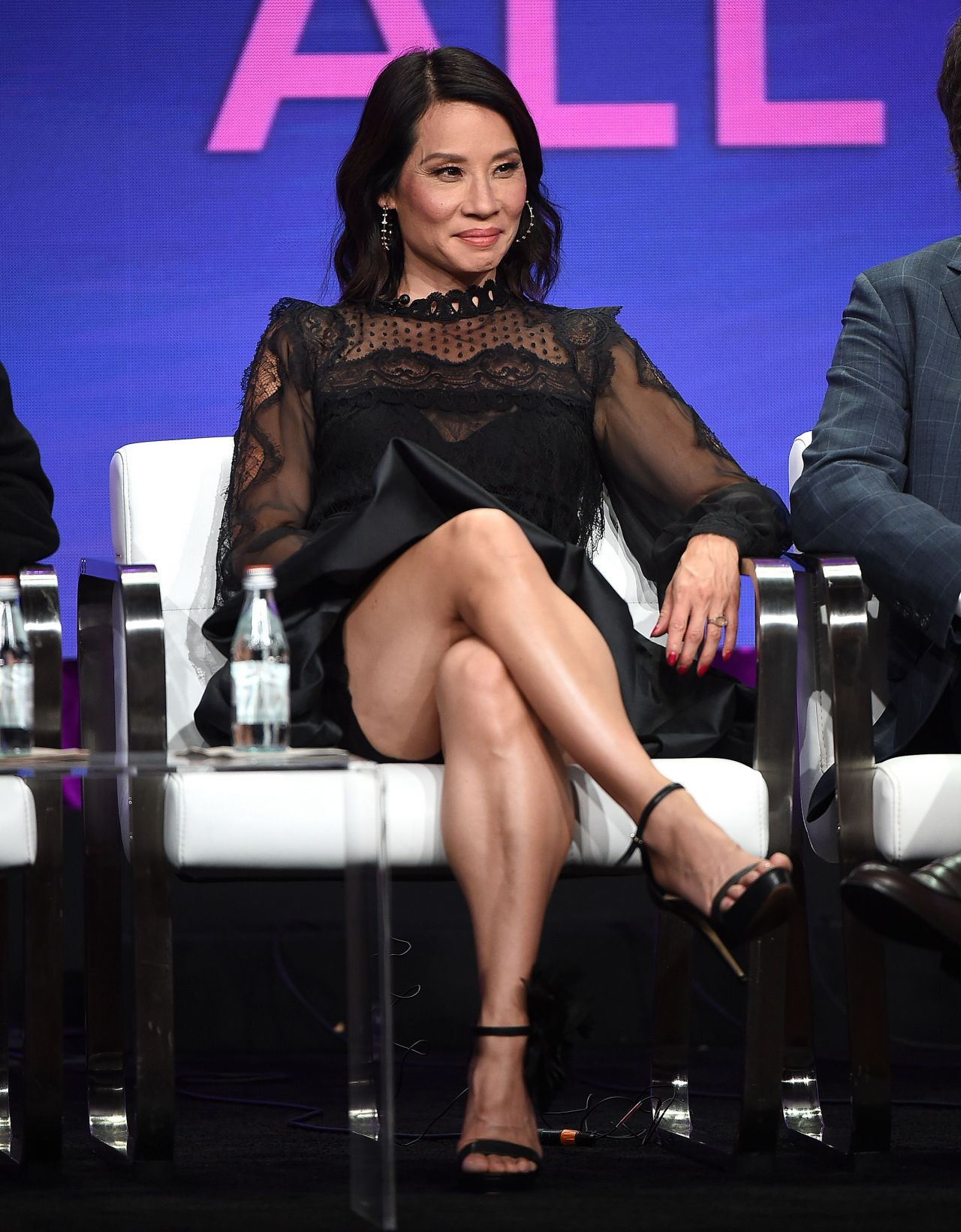 Lucy Liu  Why Women Kill Tv Show Panel At Tca Summer -9891