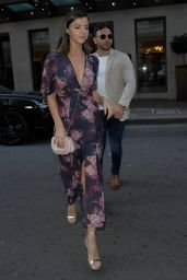 Lucy Mecklenburgh - Leaving Her Hotel in London 08/08/2019