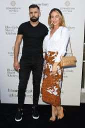 Lydia Bright – Bloomsbury Street Kitchen Restaurant Launch Party in London