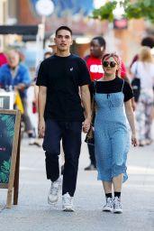 Maisie Williams and Reuben Selby - SoHo, NY 08/29/2019