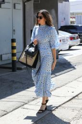 Mandy Moore - Leaving a Salon in LA 08/12/2019