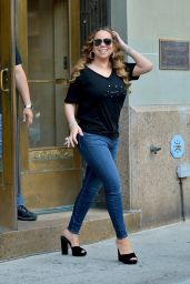 Mariah Carey in Tight Jeans - New York City 08/17/2019
