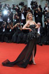 "Martha Hunt on Red Carpet – ""La Vérité"" Screening in Venice"