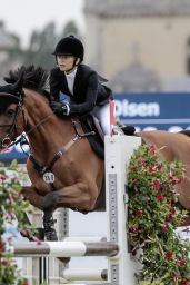 Mary-Kate Olsen - The International Jumping of the Longines Global Champions Tour in Paris, July 2019