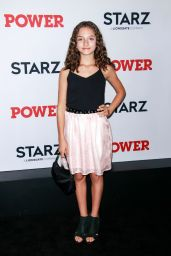 "Mattea Conforti – ""Power"" TV Show Final Season Premiere in New York"