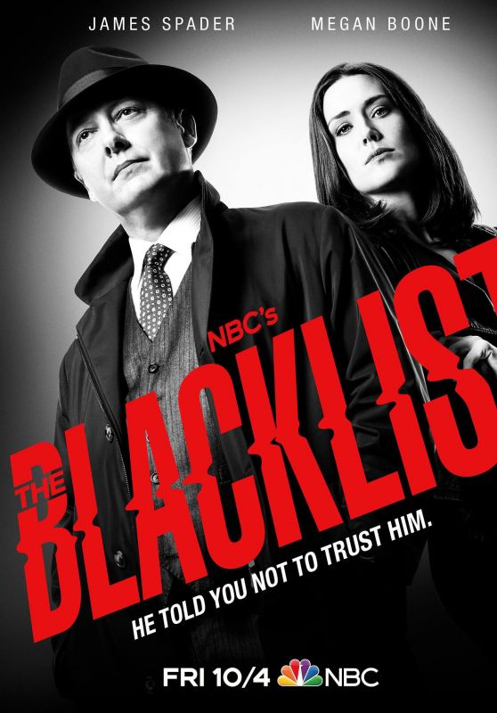 "Megan Boone - ""The Blacklist"" Season 7 Promo Poster"