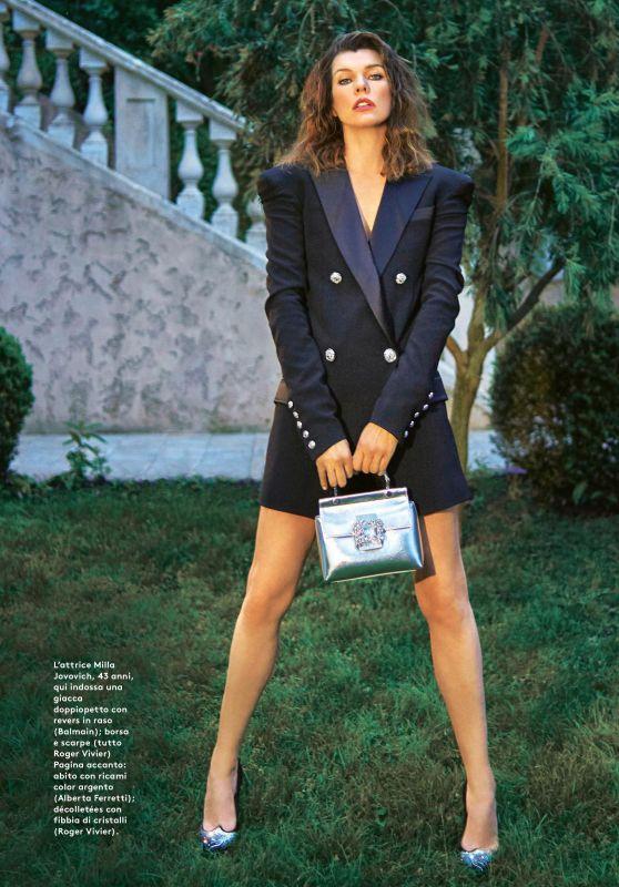 Milla Jovovich - Grazia Magazine Italia 07/25/2019 Issue