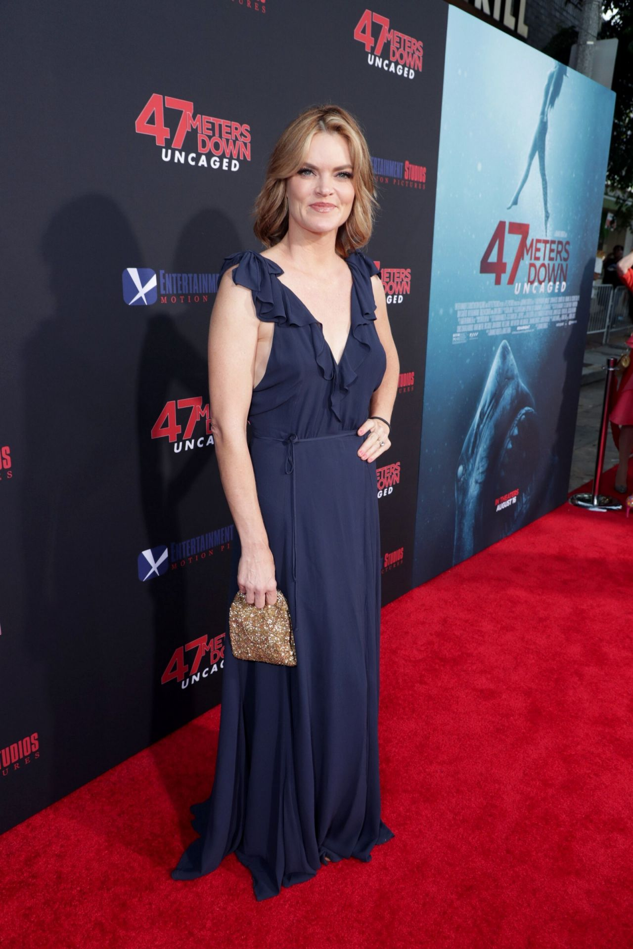 Missi Pyle 47 Meters Down Uncaged Premiere In Los Angeles