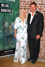 Mollie King - Born Free Global Initiative Launch in London