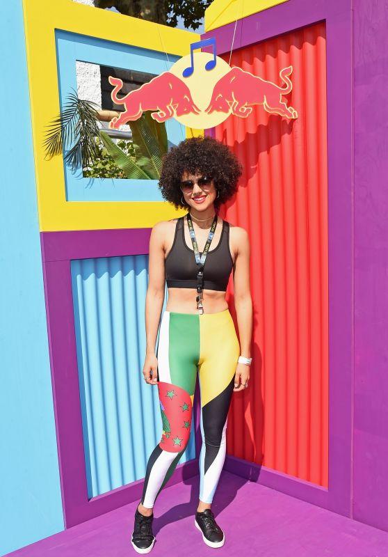 Nathalie Emmanuel - Red Bull Sound System at Notting Hill Carnival 08/25/2019