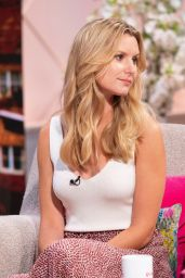 Olivia Bromley – Lorraine TV Show in London 08/14/2019