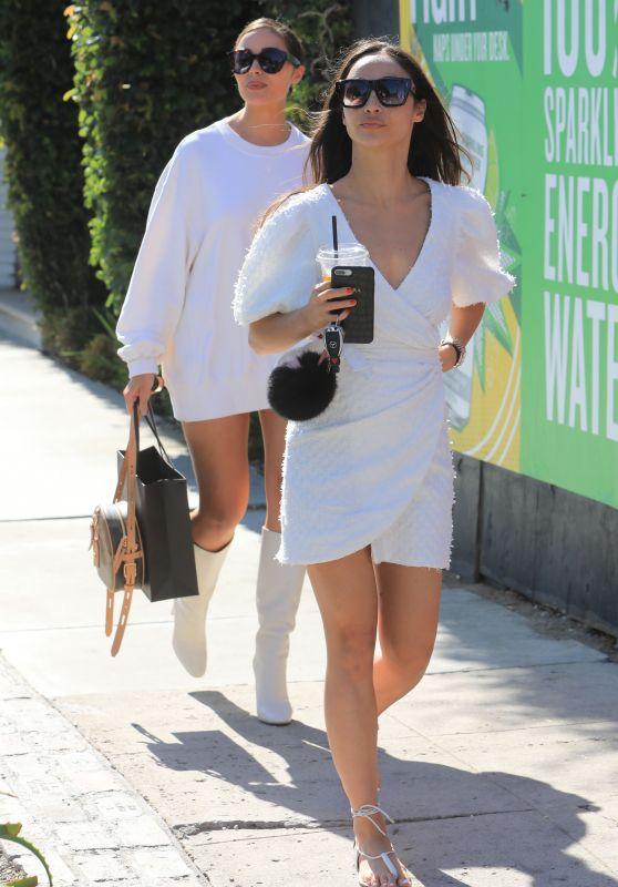 Olivia Culpo and Cara Santana - Shopping in West Hollywood 08/06/2019