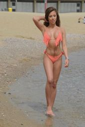 Pascal Craymer in a Bikini on the Beach in Marbella 08/17/2019