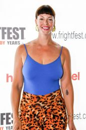 """Pollyanna McIntosh - """"Frightfest"""" at Cineworld Leicester Square in London 08/25/2019"""