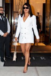 Priyanka Chopra Wearing Reformation in Tribeca 08/29/2019