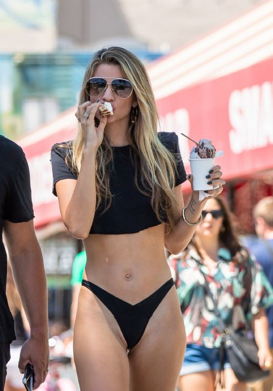 Rachel McCord in a Bikini - Venice Beach 08/21/2019