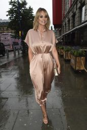 Rhian Sugden - Arriving at The Eden Launch in Manchester 08/16/2019