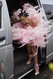 Rihanna in a Costume at Barbados Kadooment Day Parade 08/05/2019