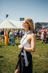 Rosamund Pike - Silver Spitfire at Goodwood Start Celebration in Chichester 08/05/2019