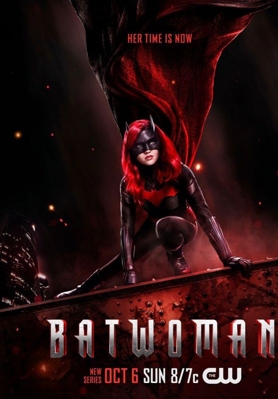 Ruby Rose - Batwoman Season 1 Poster and Promoshoot 2019