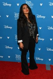 Salma Hayek - Go Behind the Scenes With The Walt Disney Studios at D23 Expo in Anaheim 08/24/2019