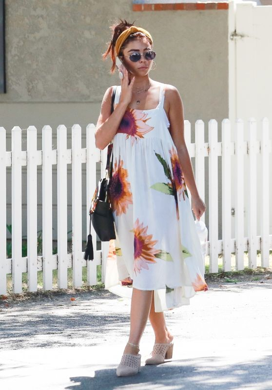 Sarah Hyland Summer Style - Out for Lunch in Studio City 08/04/2019
