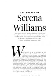 Serena Williams - Essence USA August 2019 Issue
