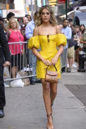 Sistine Stallone - Outside GMA in NYC 08/05/2019